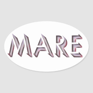 Mare sticker