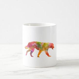 Maremma Abruzzes Sheepdog in watercolor Coffee Mug