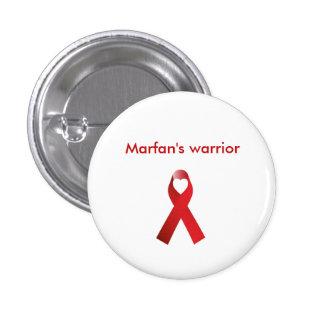 Marfan's Warrior 1 Inch Round Button