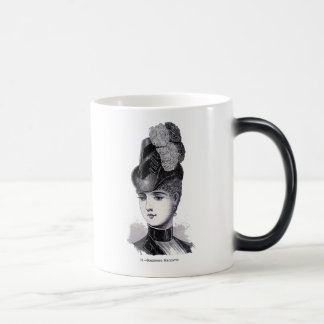 """Margaret"" 11 Oz Magic Heat Color-Changing Coffee Mug"