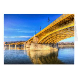 Margaret Bridge Budapest Card