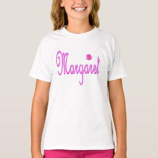 Margaret Name Pink Logo, T-Shirt