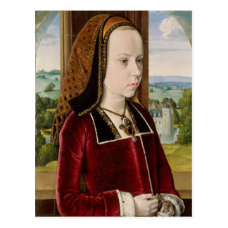 Margaret of Austria Postcard