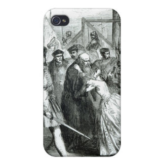 Margaret Roper Taking Leave of her Father iPhone 4/4S Cases