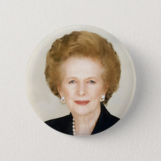 Margaret Thatcher 2 Inch Round Button