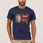 Margaret Thatcher and the United Kingdom flag T-Shirt