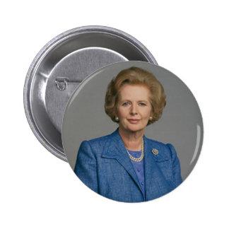 Margaret Thatcher Button Badge