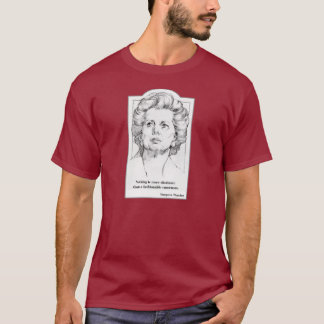 Margaret Thatcher - consensus t-shirt