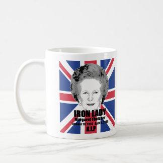 Margaret Thatcher Iron Lady Remembrance Coffee Mug