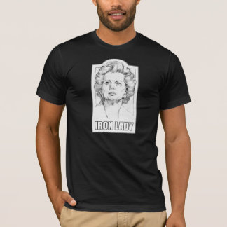 Margaret Thatcher - Iron Lady t-shirt