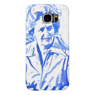 Margaret Thatcher Pop Art Portrait Samsung Galaxy S6 Cases