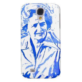 Margaret Thatcher Pop Art Portrait Samsung Galaxy S4 Case