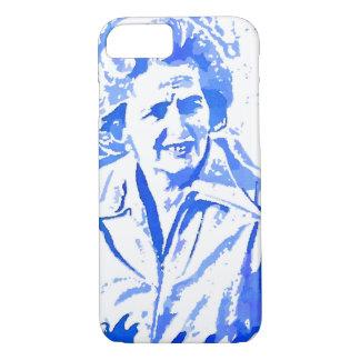 Margaret Thatcher Pop Art Portrait iPhone 7 Case