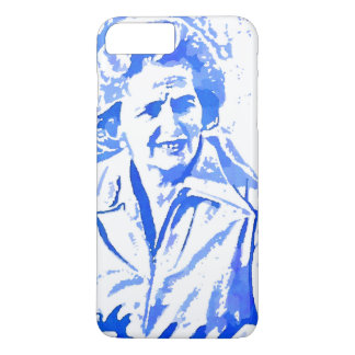Margaret Thatcher Pop Art Portrait iPhone 7 Plus Case