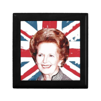 MARGARET THATCHER UNION JACK GIFT BOX