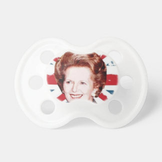 MARGARET THATCHER UNION JACK PACIFIER