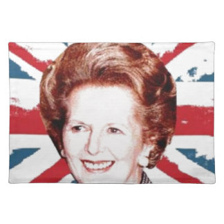 MARGARET THATCHER UNION JACK PLACEMAT