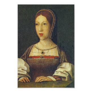 Margaret Tudor, daughters of Henry VII Poster