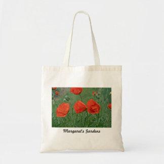 Margaret's Gardens Poppy Bags/Totes