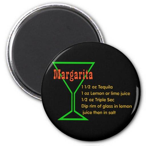 Margarita Magnets Pour Réfrigérateur