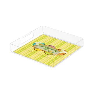 Margarita bar acrylic tray
