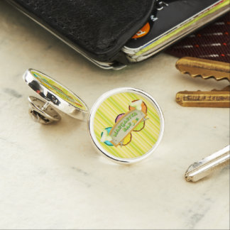 Margarita bar lapel pin