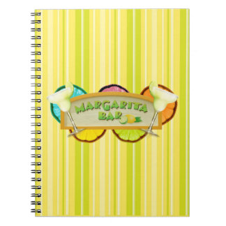 Margarita bar notebook