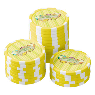 Margarita bar poker chips