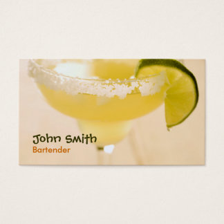 Margarita Bartender Business Card
