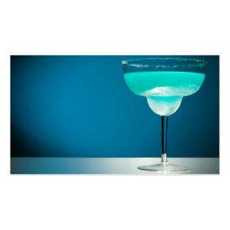 Margarita bleue glaciale cartes de visite personnelles