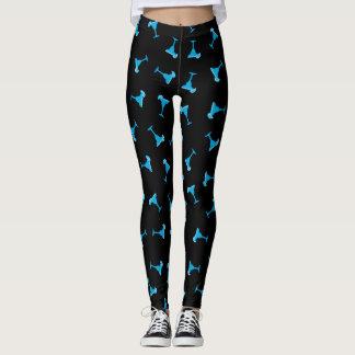 Margarita bleue leggings