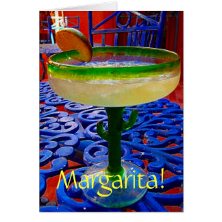 Margarita! Card