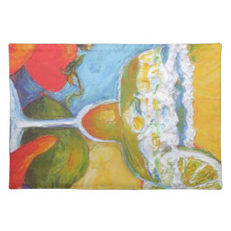 Margarita & Chili Peppers Bar Placemat