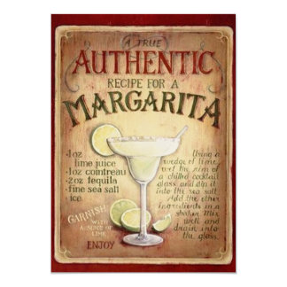Margarita Cocktail Party  Invitation