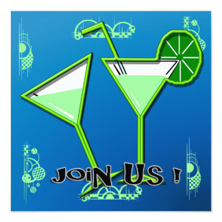 Margarita Cocktail Party Invitations