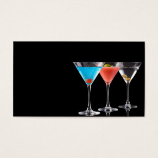 Margarita cocktails business card