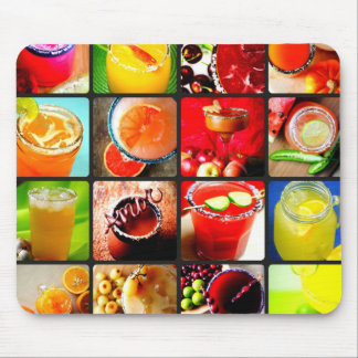 Margarita Cocktails Collage Mousepads