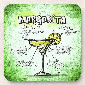 Margarita Drink Recipe Coasters