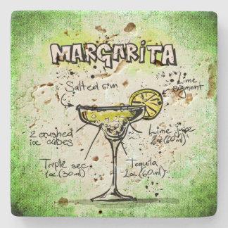 Margarita Drink Recipe Stone Coaster