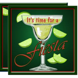 Margarita Fiesta Party Invitation