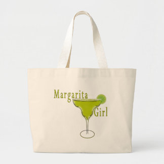 Margarita Girl  T-shirt Large Tote Bag