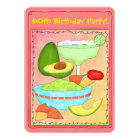 Margarita Guacamole 60th Birthday Party Invitation