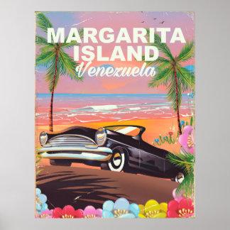 Margarita Island - Venezuela travel poster