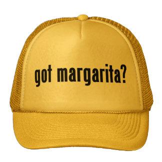margarita obtenue ? casquettes