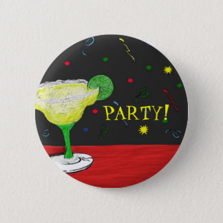 Margarita Party Button