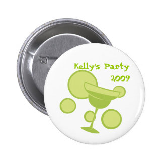 Margarita Party Pinback Button