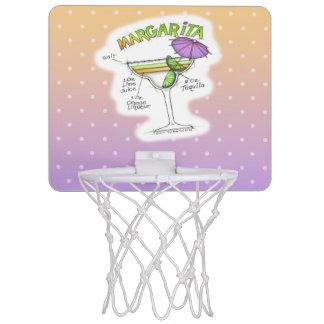 MARGARITA RECIPE COCKTAIL ART MINI BASKETBALL HOOP