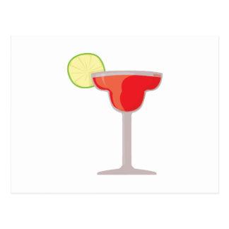 Margarita rouge cartes postales