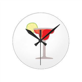 Margarita rouge pendule