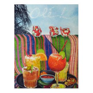Margarita Tequila Ole ! Postcard